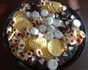 Bride and Groom Oreos - Pizzelles (almond & anise) - Raspberry Meltaways