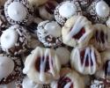 Chocolate Thumbprints - Raspberry Almond Thumbprint