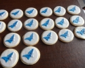 Sugar cookie rounds with Argo Group International Holdings Ltd. logo