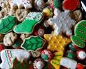 Chocolate Chip Cookies - Christmas sugar cookie cutouts - Christmas Thumbprints