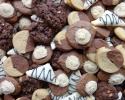 Chocolate Kahlua Cookies - Chocolate Raspberry Turnovers - Chocolate White Chocolate Chip - Two-Tone Chocolate and Peanut Butter
