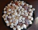 Dark Chocolate Espresso Shortbread - Double Almond Delights - Melting Moments - Raspberry Pinwheels