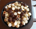 Almond Tarts - Chocolate Caramel Thumbprints - Chocolate Truffle Cups - Cinnamon Swirls - Nut Horns - Peanut Butter Bites - Strawberry Lilies