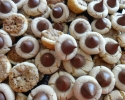 Peanut Butter Blossoms - Pecan Tassies