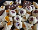Apricot Meltaways - Dark Chocolate Espresso Shortbread - Raspberry Almond Thumbprints