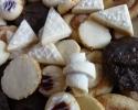Cheesecake Slices - Cinnamon Swirl - Lemon on Lemon - Nut Horns - Raspberry Almond Thumbprints - Ultimate Chocolate