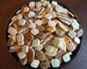 Chocolate Ribbons - Lemon Almond Cookie Brittle - Spice Bites - Spice Packages