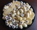 Ladylocks - Pizzelle (anise and almond) - Raspberry Almond Thumbprints