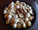 Dark Chocolate Cherry - Frosted Pumpkin - Italian Knots - Lemon on Lemon - Raspberry Almond Tarts