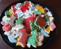 Sugar cookie Christmas cutouts