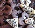 Chocolate-Filled Hearts - Chocolate Raspberry Turnovers