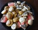 Almond Tarts - Frosted Pumpkin - Neopolitan - Raspberry Chocolate Turnovers