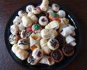 Apricot Meltaways - Chocolate Truffle Cups - Christmas Thumbprints - Lady Locks - Nut Horns - Raspberry Almond Thumbprints - Salted Caramel Thumbprints