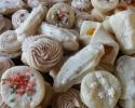 Apricot Meltaways - Lady Locks - Nutmeg Logs - Pastel cream wafers