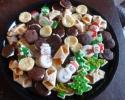 Almond Apricot Tarts - Apricot Meltaways - Christmas cutouts - Mini Gobs