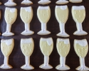 Sugar cookie champagne flutes