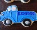 "Sugar cookie ""Little Blue Trucks"""