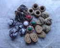 Caramel Almond Swirls - Chocolate Crinkles - Christmas Thumbprints - Peanut Butter Blossoms