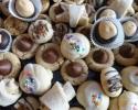 Buckeyes - Italian knots - Nut Horns - Peanut Butter Blossoms - Pecan Tassies - Salted Caramel Thumbprints