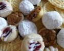 Anise Pizzelles - Nut Balls - Pecan Tassies - Raspberry Almond Thumbprints