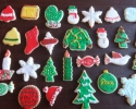 Sugar cookie Christmas cutouts
