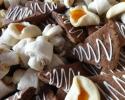 Apricot Lilies - Coconut Macaroons - Dark Chocolate Espresso Shortbread - Nut Horns