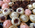 Cafe Macchiato Cups - Caramel Tassies - Chocolate Truffle Cups - Frosted Cherry - Raspberry Almond Thumbprints