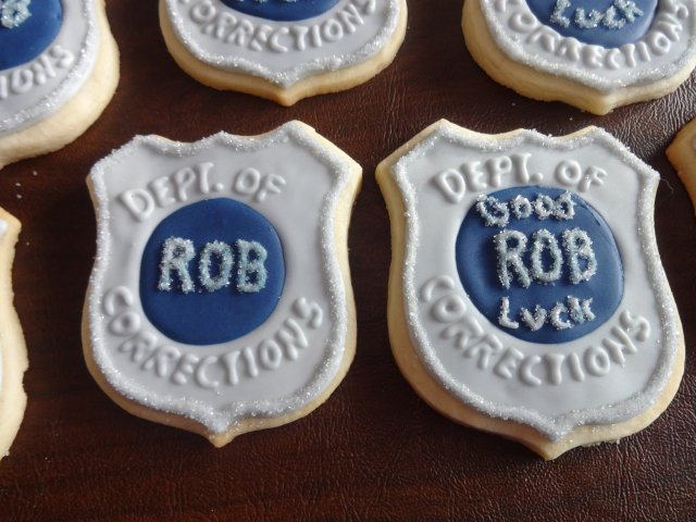 Rob's Retirement Party August 27, 2016 | Sweet Bites Cookies ...