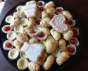 Lady Locks - Mini Cheesecakes - Sugar Cookie Wedding Cutouts