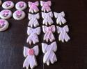 Sugar cookie pink bows