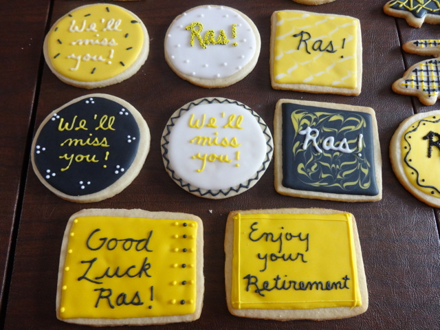 Ras S Retirement Party July 17 2015 Sweet Bites Cookies